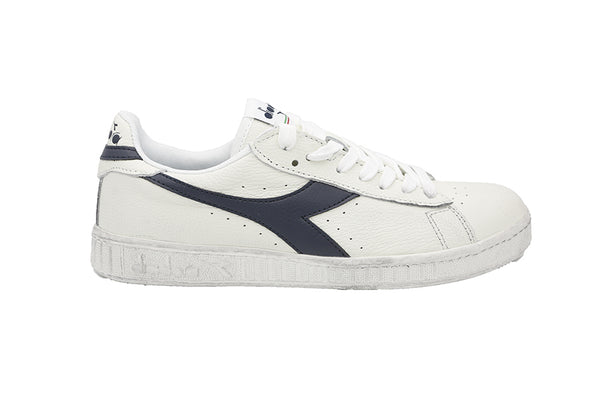 Diadora Game L Low Waxed A72935 BIANCO/BLU