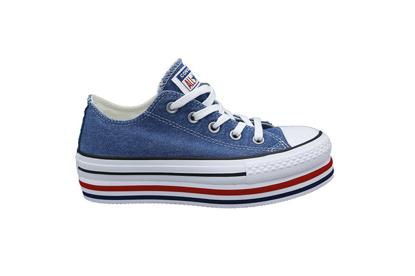 Converse All Star Platform OX 563973C Bassa Blue