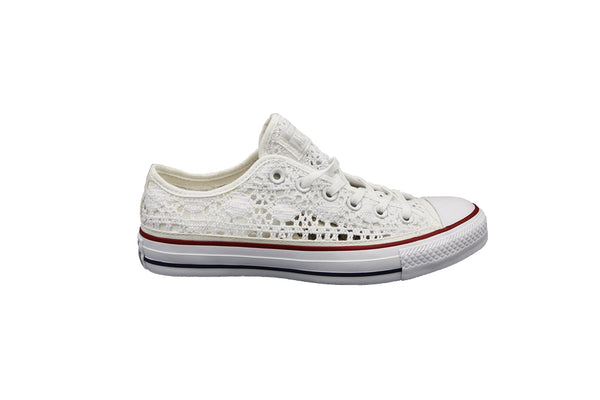 All Star Bassa Ricamo 549314C Bianca