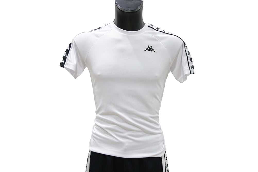 Kappa T-Shirt MM Uomo 30300U0-A60 White
