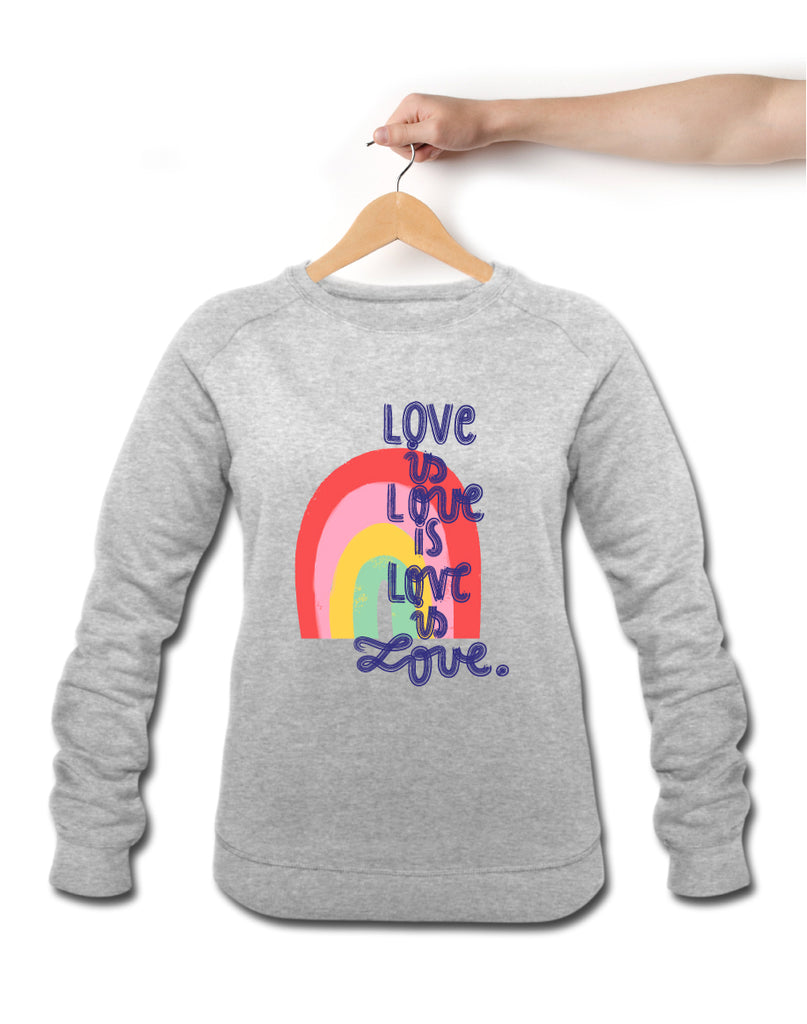 RAINBOW LOVE, grey