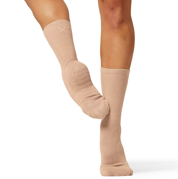 Sand A1000 Bloch sox Dance Sock by Bloch