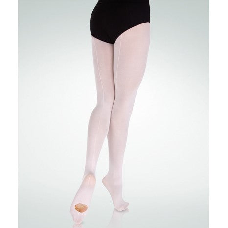 Body Wrappers C39 Convertible Dance Tights with back-seam