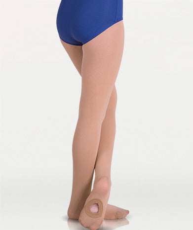 A81 C81 Jazzy Tan Body Wrappers Convertible Tights