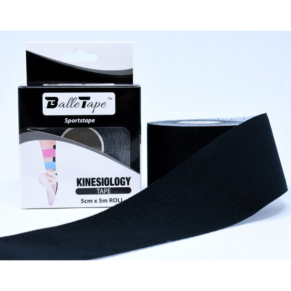 Kinesiology sportstape for ballet - Black