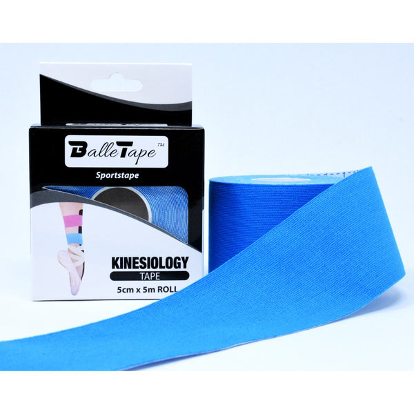 Kinesiology sportstape for ballet - Blue