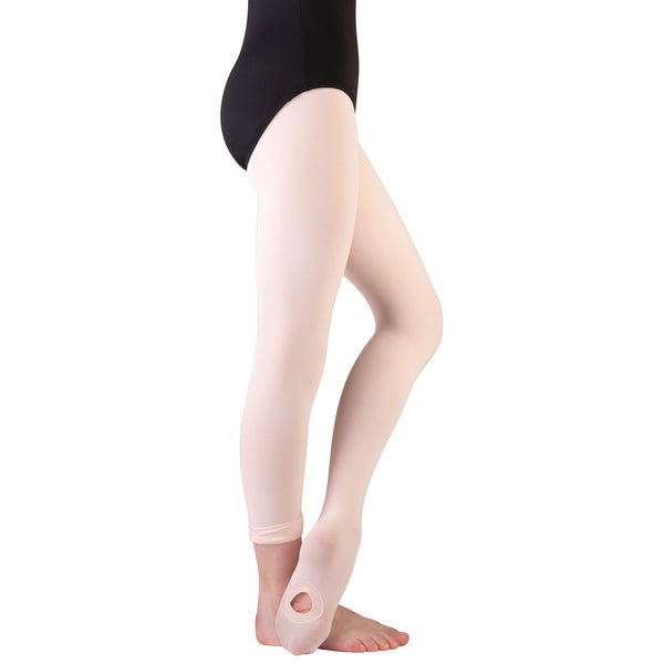 Body Wrappers Convertible Tights - C31 - Girls