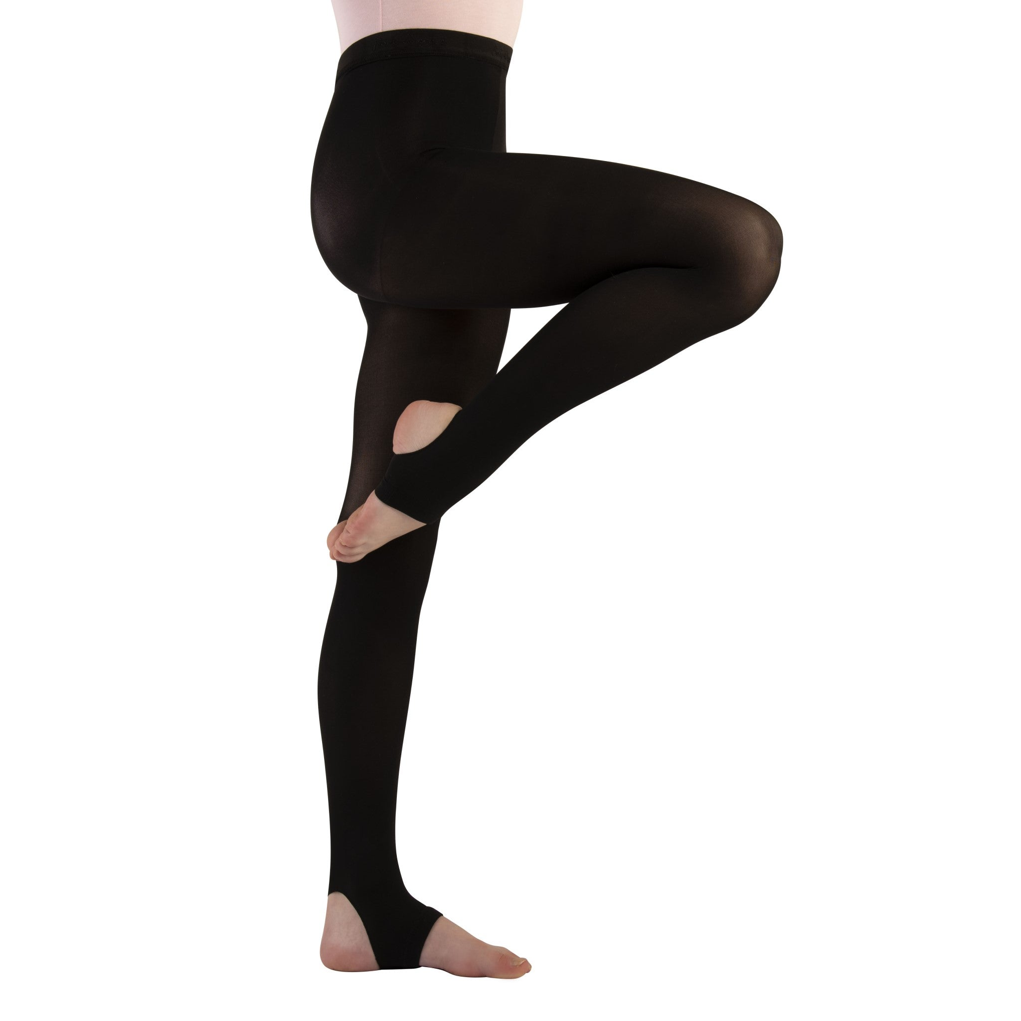 Girls' Body Wrappers Stirrup Tights - C32 - Children Size
