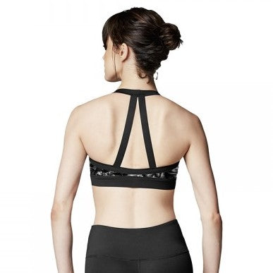 Bloch Zip Front Pretty Back Halter Top FT5052