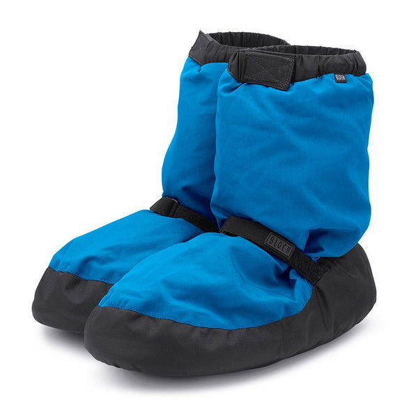 IM009 Bloch Warm Up Booties Candy Neon Blue