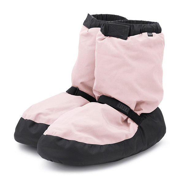 IM009 Bloch Warm Up Booties Candy Light Pink