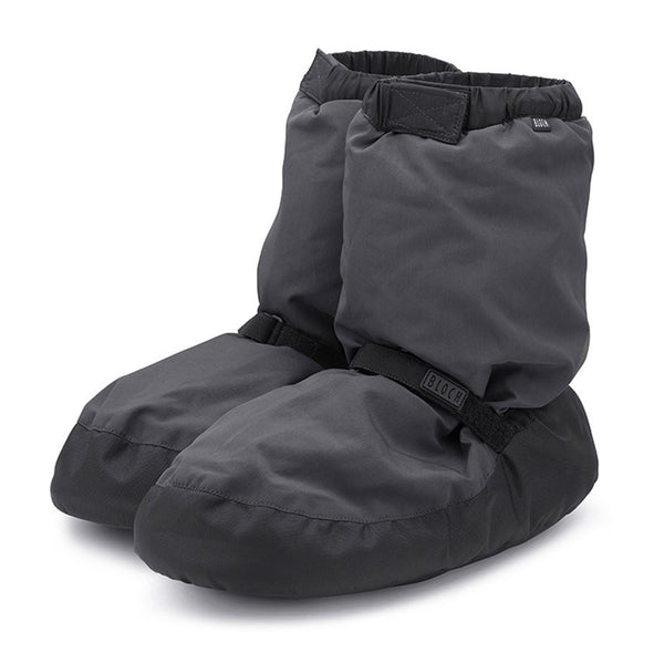 IM009 Bloch Warm Up Booties Charcoal