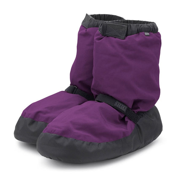 IM009 Bloch Warm Up Booties Purple