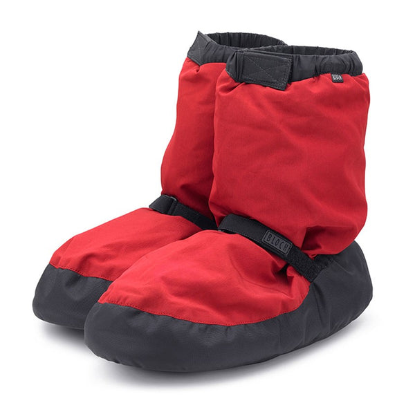 IM009 Bloch Warm Up Booties Red