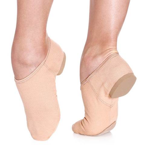JZ75 So Danca Nude Stretch Canvas Jazz Shoes