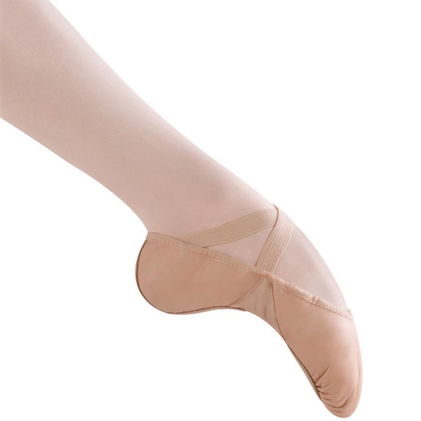 Side view Bloch ballet shoes