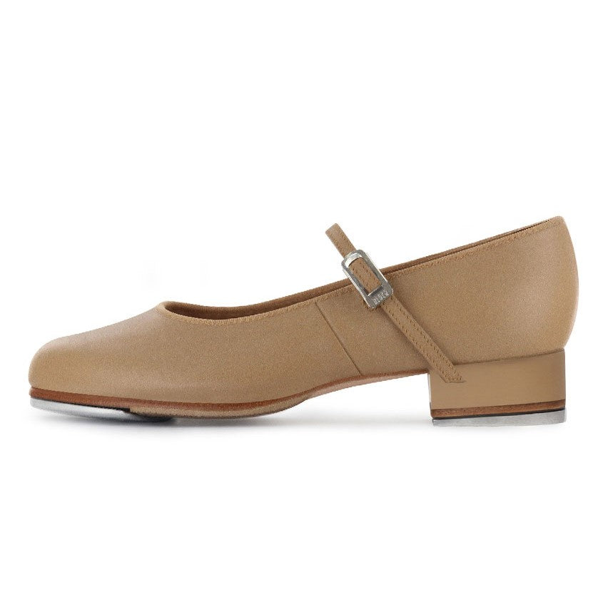 S0302L Tan Tap On Leather Tap Shoes by Bloch