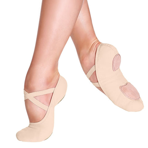 So Danca Nude Canvas Slippers