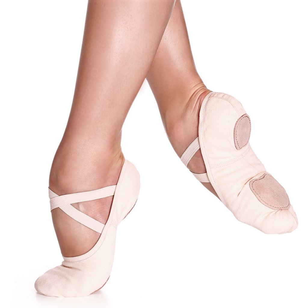 Children Canvas ballet shoes split sole So Danca