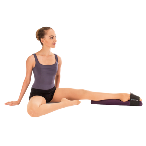 Dancer using a Superior Arch Foot Stretcher (SuperiorArch)