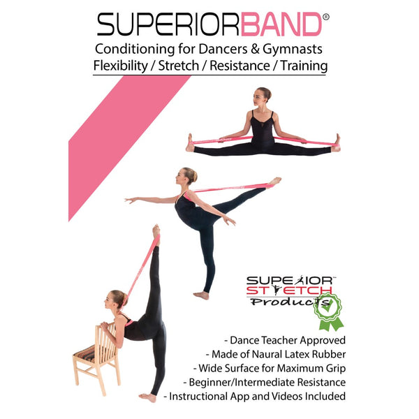 Pink Superior Stretch Loop Band Specs