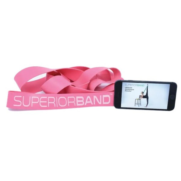 Pink Superior Stretch Band