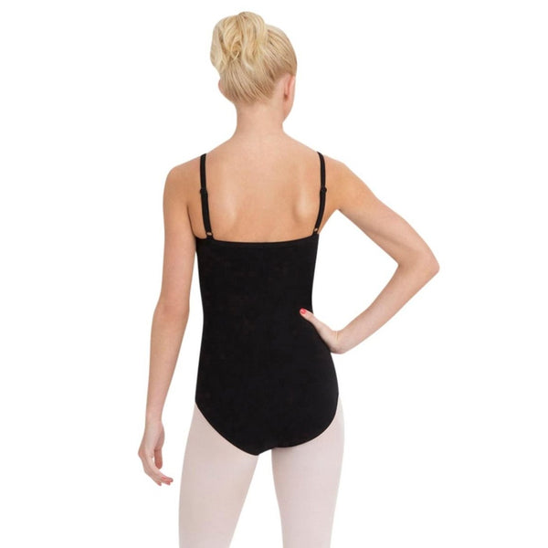 camisole leotard with bra black cc110 by Capezio
