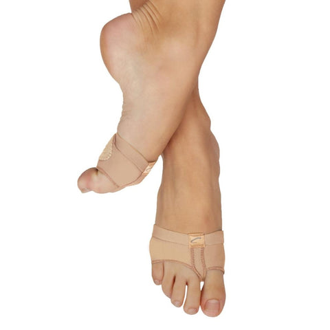 H07 Nude Footundeez Lyrical Paws by Capezio