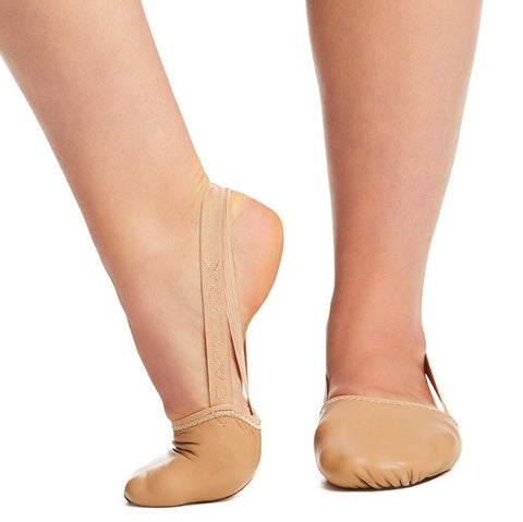 H062 Capezio Leather Piroutte II Half Sole Lyrical Shoes