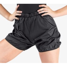 Body Wrappers' Unisex Child Plastic Bag Shorts (046)