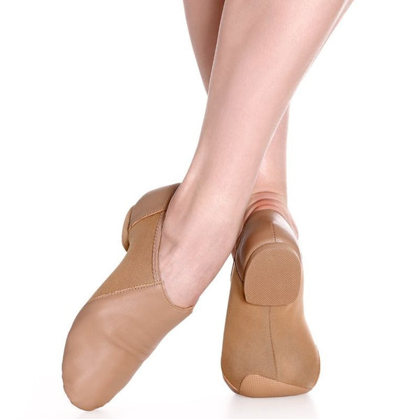 JZ43 Caramel So Danca Slip On Jazz Shoes