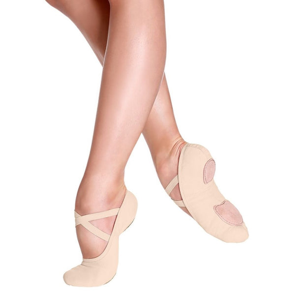 So Danca Nude Canvas Ballet Shoes Sd16 SD 18