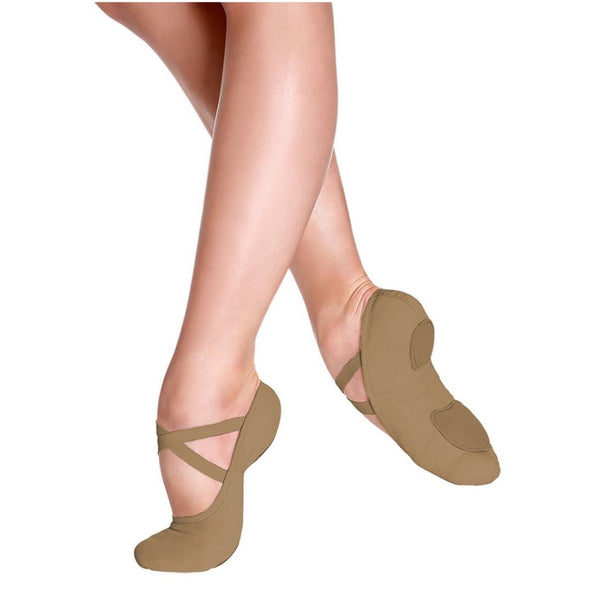 So Danca Suntan Canvas Ballet Shoes Sd16 SD 18