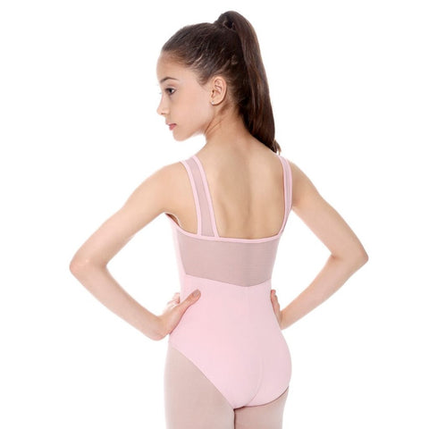So Danca SL21 - Child Tank Leotard with Mesh Straps and Mesh Back (5 Colors)