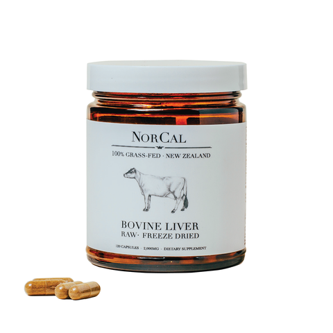 ProMix NorCal Beef Liver Capsules