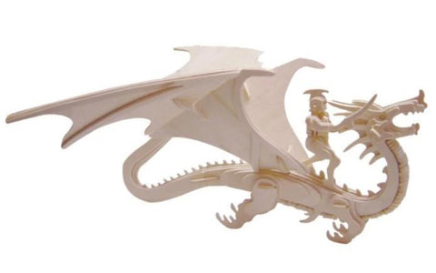 3D Wood Dragon Puzzle | Engaging The Dragon