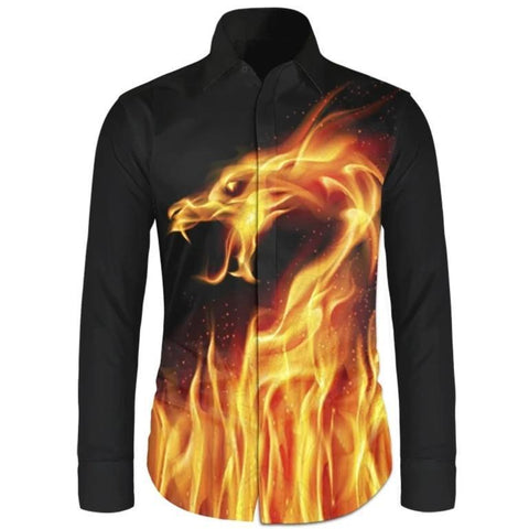 Flame Dragon Shirt