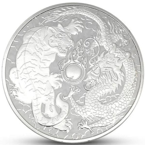 Coin Tiger And Dragon