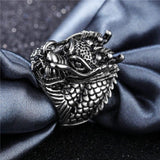 Ring Animal Head