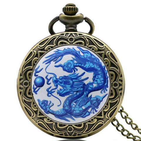Blue Dragon Pendant | Engaging The Dragon