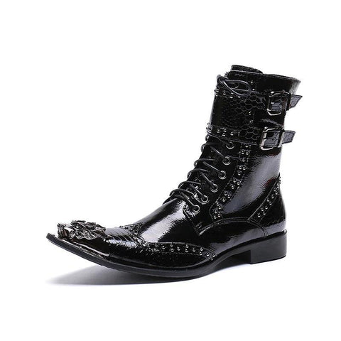 Dragon Leather Boot