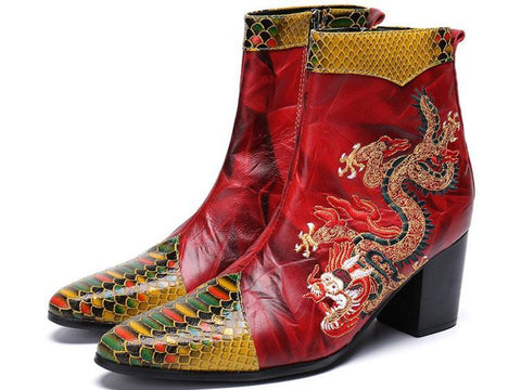 Boot Red Dragon