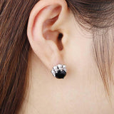 Gothic Buckle Man Earring