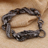 Dragon Bracelet Black Man