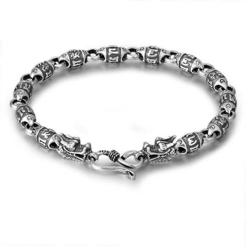 Bracelet Silver Dragon Woman | Engaging The Dragon