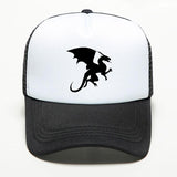 Hat Man Printed Dragon