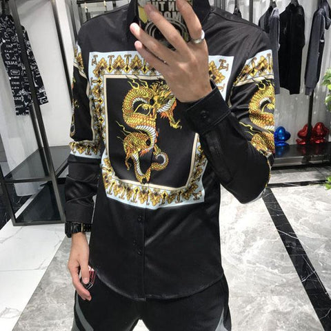 Shirt Golden Dragon