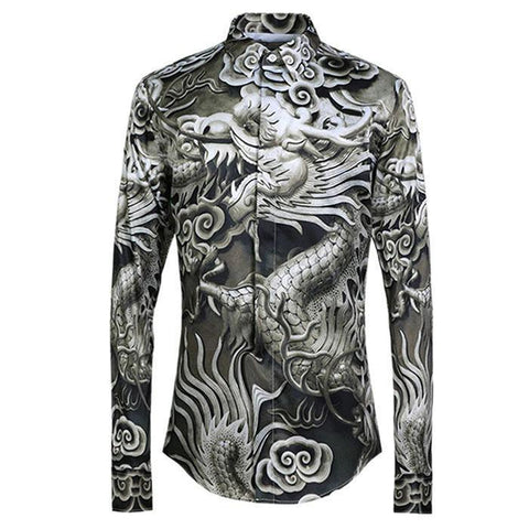 Shirt Japanese Dragon