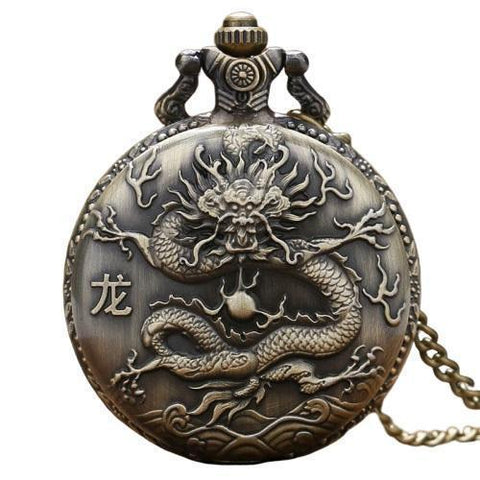 Chinese Bronze Dragon Pendant | Engaging The Dragon