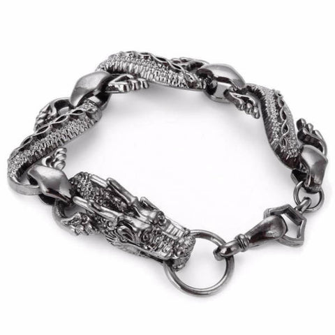Dragon Bracelet Black Man | Engaging The Dragon